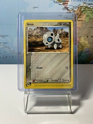 Pokemon TCG Aron EX Ruby and Sapphire 50/109 Common  NM/MINT