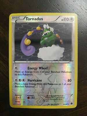 Pokemon: TORNADUS - [89/98] - [Reverse Holo] - [BW Emerging Powers Set]