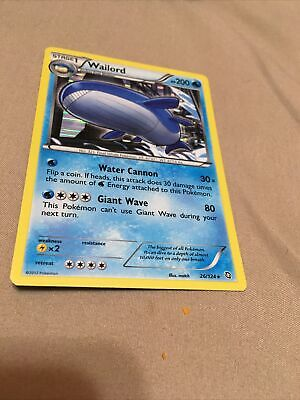 Wailord - 26/124 - Holo Rare Lightly Played - Pokemon Dragons Exalted