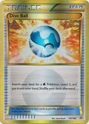 Pokemon Primal Clash Dive Ball 161/160 Full Art Ultra Rare Nm-lp