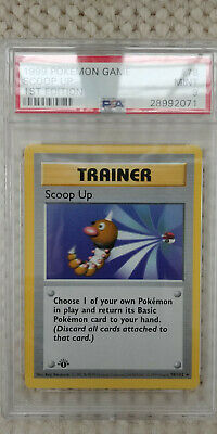 Pokemon Scoop Up 78/102 1st Edition Base Set PSA 9 1999 TCG Shadowless Trainer