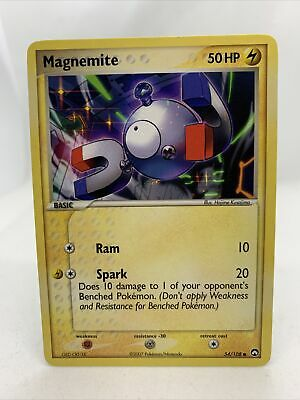 2007 Magnemite Ex Power Keepers Pokemon Card NM 54/108