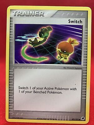 Switch 2006 Ex Dragon Frontiers Pokemon Card NM 83/101