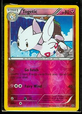 Pokemon TOGETIC 44/108 - XY Roaring Skies - Rev Holo - MINT
