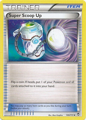 1x Super Scoop Up - 100/111 - Uncommon NM-Mint Pokemon XY - Furious Fists