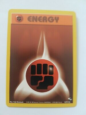 Fighting Energy 127/132 Gym Heroes Set Pokemon Card Excellent Condition