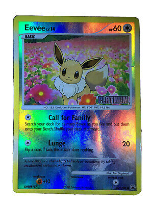 Pokemon Cards, Eevee - Majestic Dawn, Reverse Foil, (Good Condition), No. 62/100