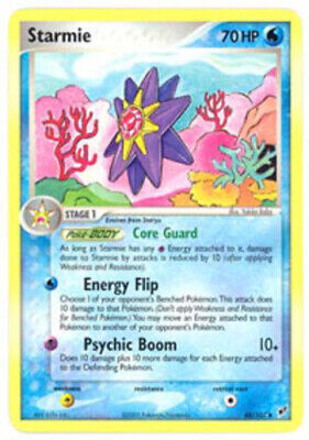 1x Starmie - 48/107 - Uncommon - Reverse Holo Lightly Played Pokemon EX - Deoxys