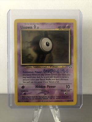 UNOWN I - Neo Discovery Set - 68/75 - Common - Pokemon Card - Unlimited - NM