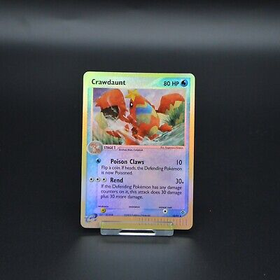 Pokemon Cards EX Dragon Crawdaunt 13/97 Reverse Holo Near Mint Condition