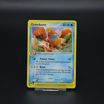 Pokemon Cards EX Dragon Crawdaunt 13/97 Mint Condition