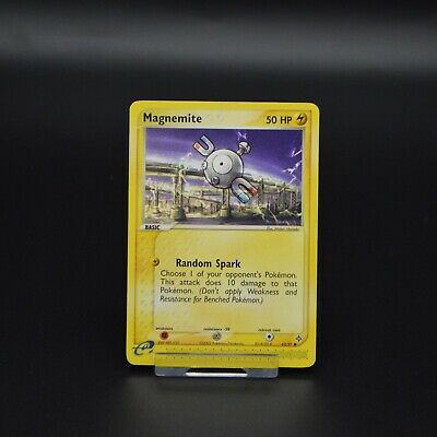Pokemon Cards EX Dragon Magnemite 62/97 Mint Condition