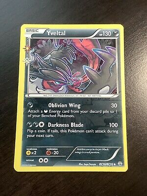 Yveltal RC16/RC32 XY Generations Radiant Collection Pokemon Rare Holo Card M/NM