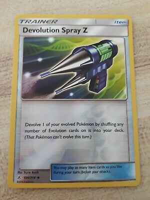 Pokemon TCG Unbroken Bonds - Devolution Spray Z 166/214 (Reverse Holo)
