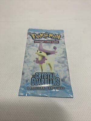 Pokemon EX Crystal Guardians Booster Pack English Delcatty Art Sealed Unweighed