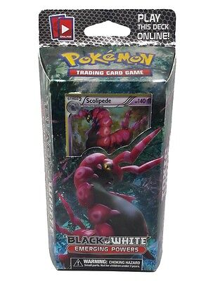 POKEMON EMERGING POWERS Scolipede DECK FACTORY SEALED ENGLISH RARE NEW