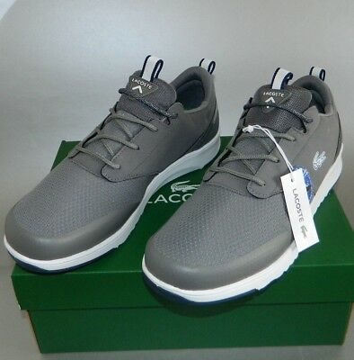07b0d4ea6 LACOSTE Men s Sport Shoes L.IGHT 2.0 HTG SPM Sneakers Gray 10 10.5 12 US