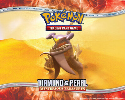 Pokemon TCG Diamond and Pearl Mysterious Treasures - Common Cards