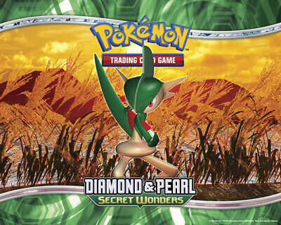 Pokemon TCG Diamond and Pearl Secret Wonders - Reverse Holo Rare Cards