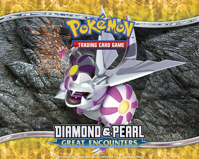 Pokemon TCG Diamond and Pearl Great Encounters - Rare Cards