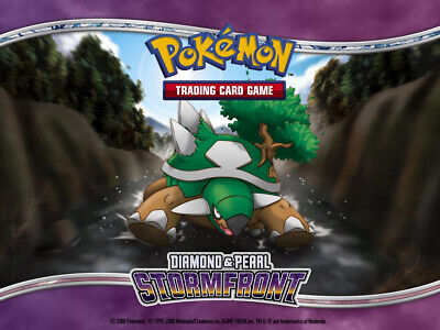 Pokemon TCG Diamond and Pearl Stormfront - Reverse Holo Common Cards
