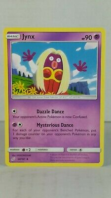 Jynx 68/181  SM: Team Up  Uncommon Mint/NM  Pokemon