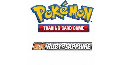 Pokemon TCG EX Ruby and Sapphire - Common Cards