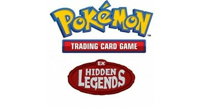 Pokemon TCG EX Hidden Legends - Common Cards