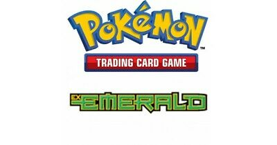 Pokemon TCG EX Emerald - Rare Cards