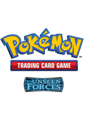 Pokemon TCG EX Unseen Forces - Reverse Holo Rare Cards