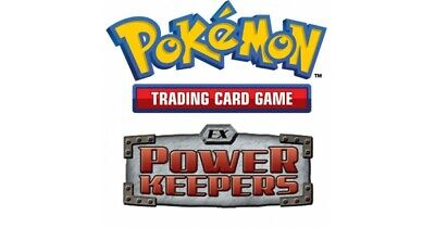 Pokemon TCG EX Power Keepers - Uncommon Cards