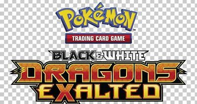 Pokemon TCG Black & White Dragons Exalted - Holofoil Rare Cards