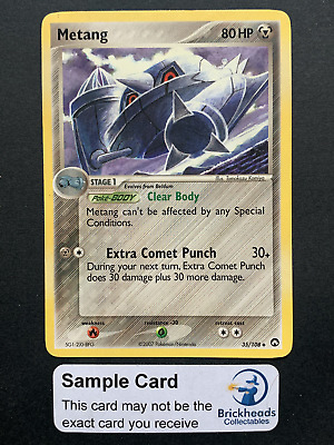 Metang 35/108 Uncommon | Ex Power Keepers | Pokemon Card