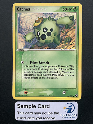 Cacnea 46/108 Common   Ex Power Keepers   Pokemon Card