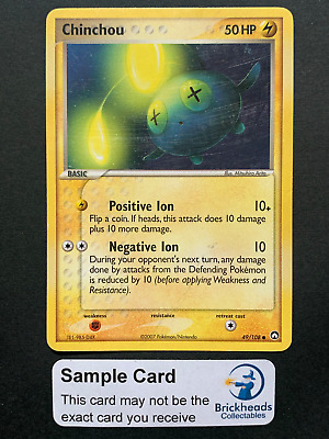 Chinchou 49/108 Common   Ex Power Keepers   Pokemon Card