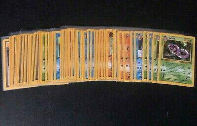 Rare 1999 Fossil Pokemon 1st/First Edition TCG Cards NM/M You Pick/Choose!