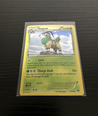 2014 Pokemon Card: Gogoat - 19/146 XY - Rare Holo