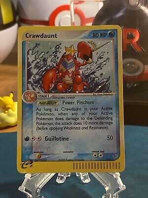 Pokemon Crawdaunt 3/97 Rare Holo Foil EX: Dragon Pokemon
