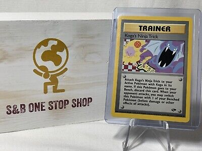 Koga's Ninja Trick 115/132 Trainer - Gym Challenge - Pokemon TCG 2000 Wizards