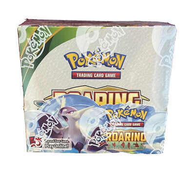 Pokemon XY Roaring Skies Booster Box Sealed Product Nintendo Rayquaza EX