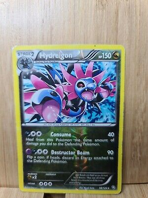 HYDREIGON🏆Reverse Holo 98/124 Dragons Exalted (Genuine) Pokemon Card🏆