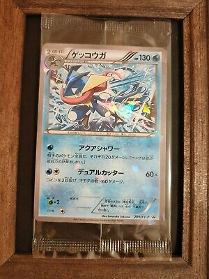 Pokemon Greninja 209/XY-P Promo card collection Sealed 2015 Holo