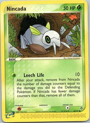 Pokemon Nincada 68/97 E-Reader Card EX Dragon (2003) LP