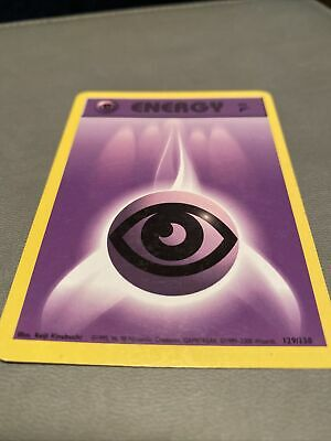 Pokemon Base Set 2 COMMON Psychic Energy 129/130- Near Mint (NM)