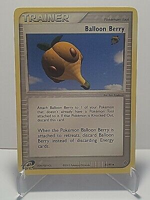 Balloon Berry 82/97 Pokemon EX Dragon Uncommon Trainer LP Used See Pictures