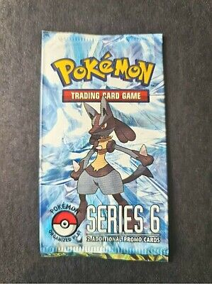 1x Pop Series 6 Sealed Booster Pack Pokemon TCG Cards Organised Play Lucario