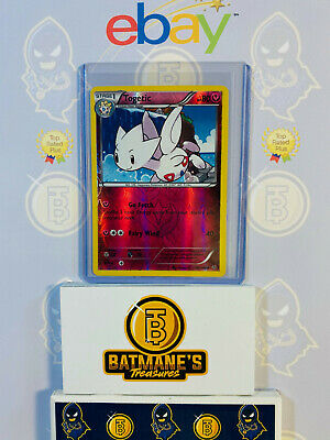 Togetic 44/108 NM Near Mint Roaring Skies Reverse Holofoil Holo Pokemon Card