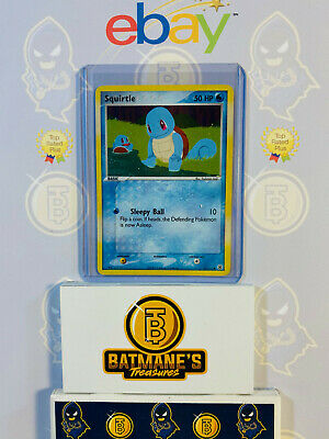 Squirtle 82/112 NM Near Mint FireRed & LeafGreen Holofoil Holo Pokemon Card