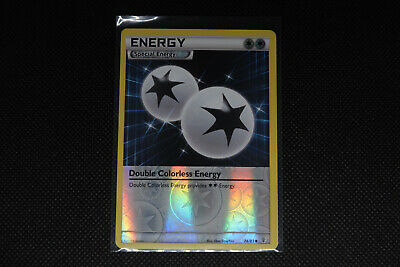 Pokemon Card: Double Colorless Energy Reverse Holo - 74/83 - XY Generations Set