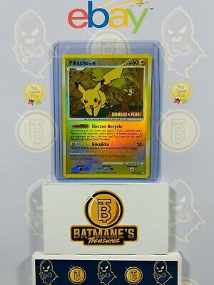 Pikachu 94/123 LP Played Mysterious Treasures Diamond Pearl Reverse Holo Pokemon